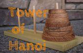 Maak een toren van Hanoi puzzel spel
