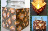 Gemakkelijk Minecraft Glowstone bijenwas kaars