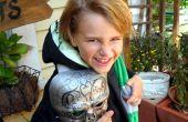 Draco Malfidus - Death Eater (kinderen gewaad, masker, sjaal en andere spullen van Harry Potter)