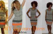 DIY Beyonce Nicole Miller's geïnspireerde jurk