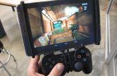 Android Tablet PS3 / Xbox360 Controller Mount - ik maakte het op TechShop