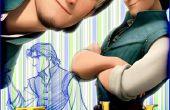 Flynn Rider vest uit Tangled