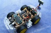 Androïde slimme telefoon Bluetooth afstandsbediening intelligente slimme auto 51 MCU (Code STC89C52)