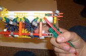 SUPER AWESOME KNEX WII ZAPPER GUN LICHTPISTOOL MET SLECHTS 1 RUBBERBAND!!!