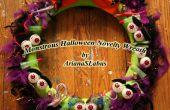 De kroon van de nieuwheid van de monsterlijke Halloween