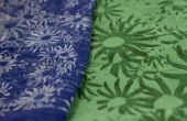 Textiel etsen met een laser cutter