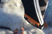 Winter bewijs een Shoe - met behulp van DIY tractie Spikes