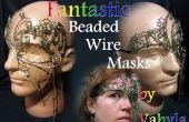 Fantastische Beaded draad maskers