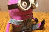 Aangepaste gemaakt paarse Minion Puppet