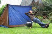 De bijna-perfecte Tent: Ontwerpen en bouwen van een gerecycled Tent