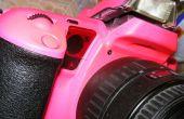 Canon EOS10 camera in TL roze, 3 uur makeover