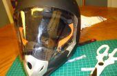 Maak een eenvoudig vizier voor uw anders Visorless Full-face helm