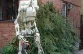 Papercraft schaal 1:1 Star Wars Battle Droid.