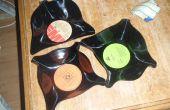 Hoe maak je een kom/frisbie uit een oude record