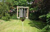 Bouwen van een verticale as Wind Turbine (VAWT)