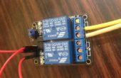 Controle licht met behulp van de Arduino met Relais module AC