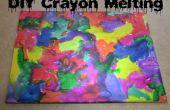 DIY Crayon smelten