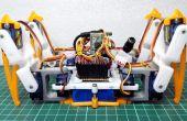 [DIY] Spider, Robot (Quad robot, viervoeter)