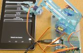 Remote controlled Robotic Arm (MeArm) met behulp van pfodApp