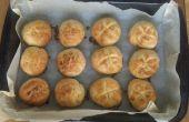 Zeer zeer gemakkelijk Mini boter broodjes & knoflook kaas broodjes