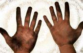 Hoe te vuile handen wassen?