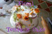 Floral tentakel taart