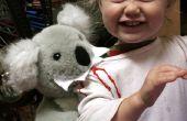 Vicieuze Koala aanval kind kostuum