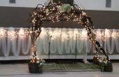 Manzanita bruiloft arbor