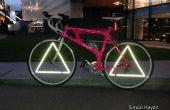 Driehoek wiel reflectoren - fiets