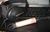 Ultra-goedkope hoofdtelefoon kabel Wrap