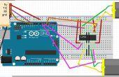 Bluetooth Robot gecontroleerd met behulp van de Arduino