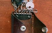 Hoe minder spullen - DIY Pocket portemonnee en sleutel houder dragen