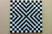 LEGO optische illusie mozaïek