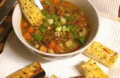 Snelle & gemakkelijk manier om knoflook, kruid & Parmezaanse kaas brood - Yum