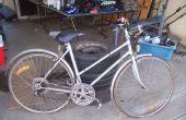 Hoe te te bevestigen op een oude fiets