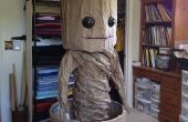 GROOT-Dancing Baby Groot kostuum (goedkope al het papier kostuum)