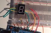 Arduino 7 segment