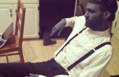 Zwart-wit stomme Film kostuum + make-up Tutorial