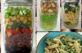 Super salade Jars