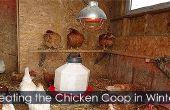 Coop - vier seizoenen Chicken Coop ideeën kip