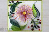 Muur opknoping met behulp van filigraan Art filigraan muur decoratie idee: hoe te maken