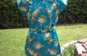 Aziatisch geïnspireerd satijnen jurk voor minder dan $10.