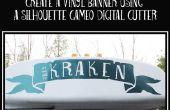 Vinyl voertuig Banner met Silhouette Cameo