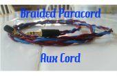 Gevlochten Paracord AUX kabel (Aux snoer)