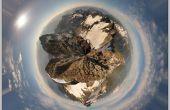 Hoe maak je Polar Panorama met Photoshop