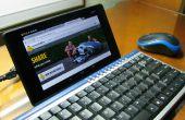 & Toetsenbordmuis voor tabletten (Nexus 7)
