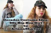 Decennia kostuum idee: 90s Hip Hop meisje