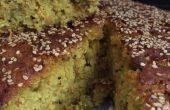 Pittige rijst-linzen taart