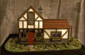"""De """"Highwayman Inn"""" (uit Sketchup en 3DS werkelijkheid)"""