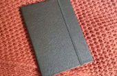 Maken van een Tablet Case van een oude leren jas